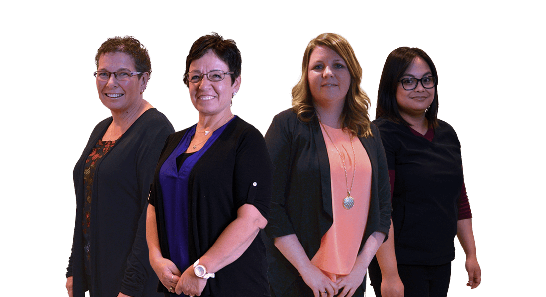 Receptionists and Support Staff - Regent Avenue Dental Centre - Dentist Winnipeg